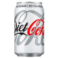 Cans Diet Coca Cola (GB) 24 x 330ml